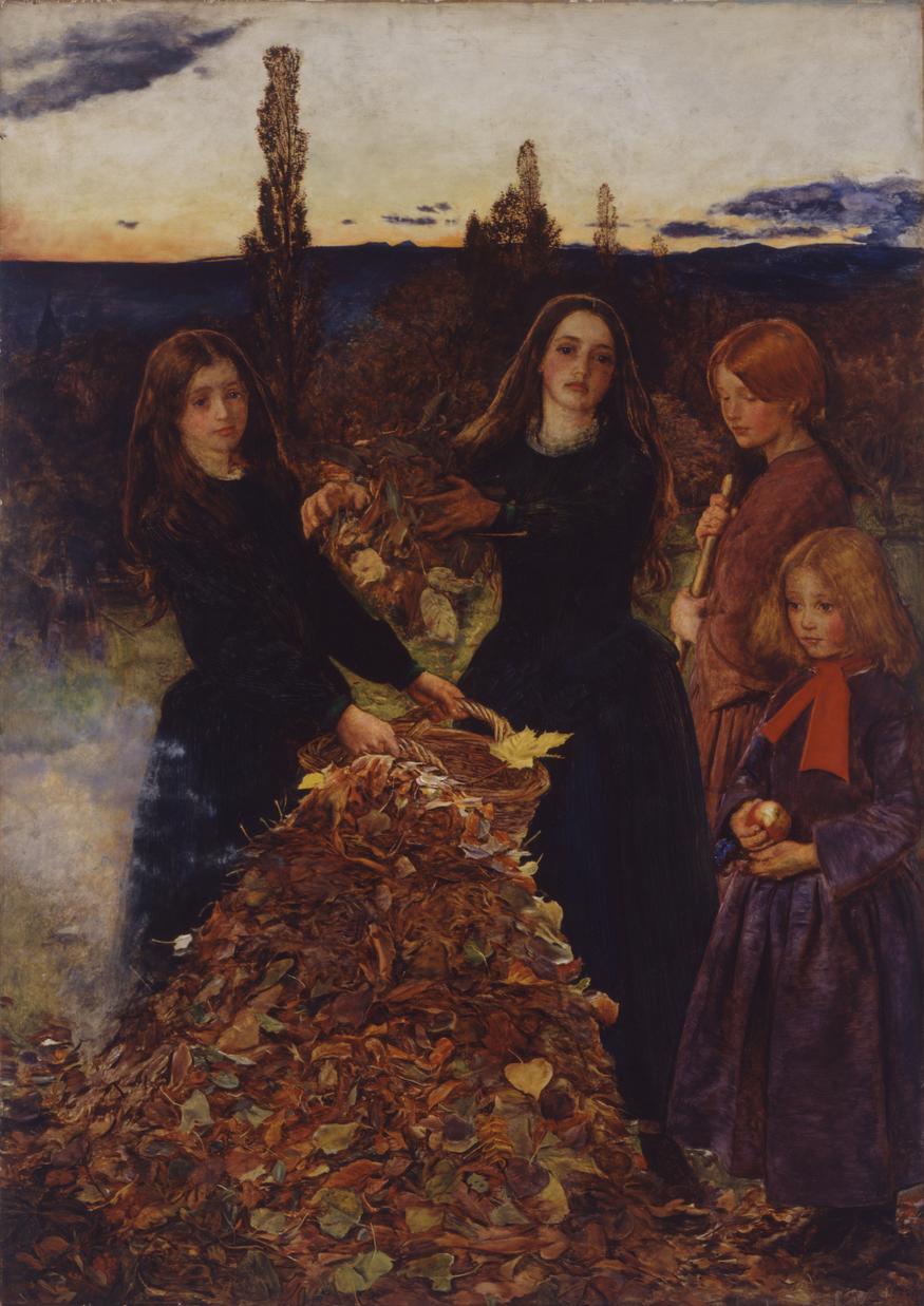 John Everett Millais, Autumn Leaves 1855-6. Manchester City Galleries