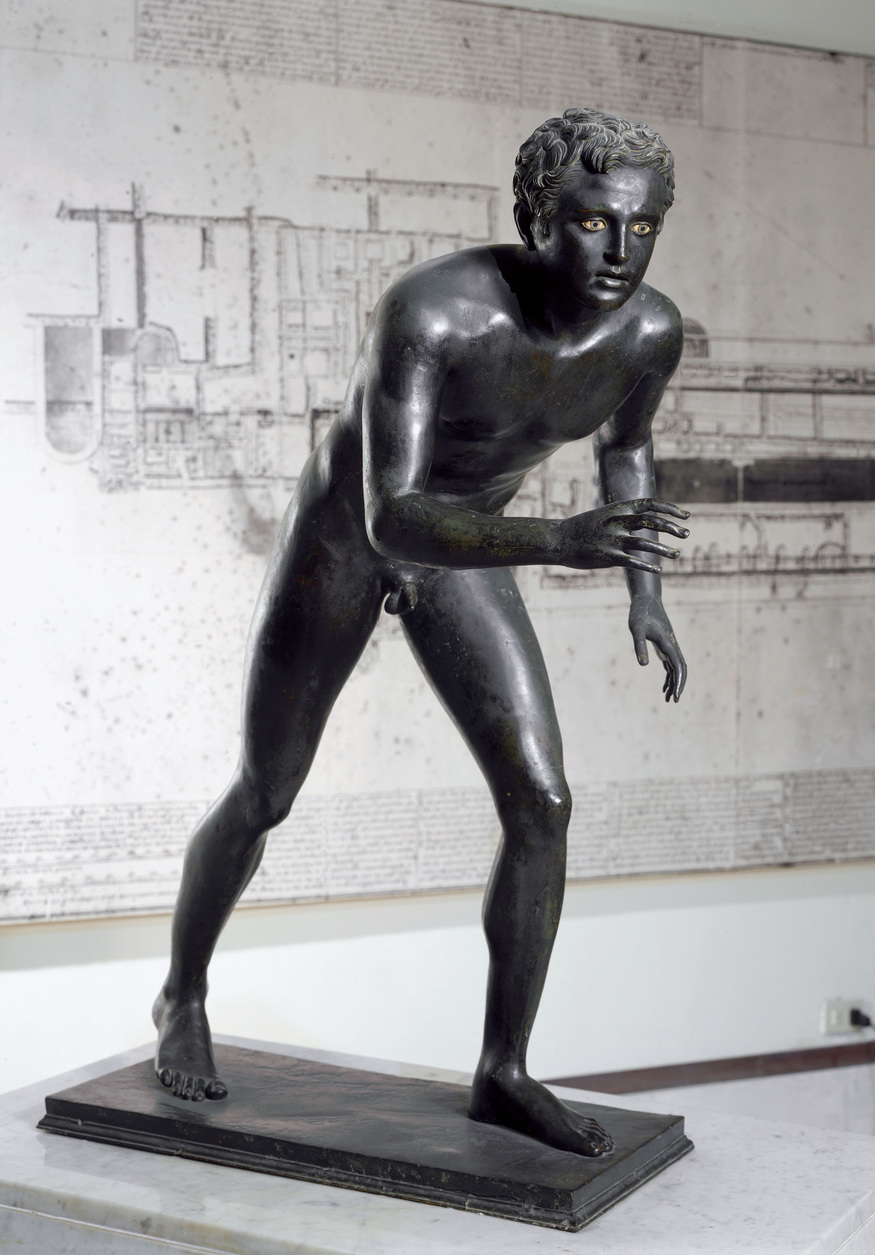********: Wrestler, from Villa dei Pisoni at Ercolano. Naples, National Museum*** Permission for usage must be provided in writing from Scala.
