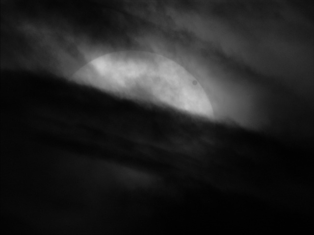 Chris Warren (UK), Transit of Venus 2012 in Hydrogen-Alpha, winner of Our Solar System award.