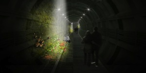 Mail Rail Fungus Tunnel Wins London High Line Competiton