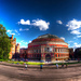 Fisheye-lens view of the Albert Hall, by Anatoleya