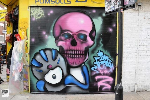 Inkfetish near Brick Lane.