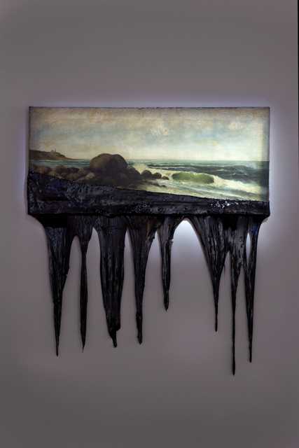 Frieze London: Minerva Cuevas, Shore. Image courtesy Kurimanzutto Gallery.