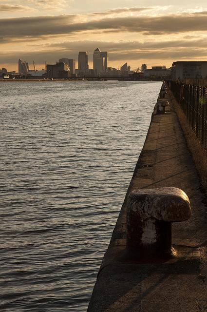 Royal Albert Dock, by Joe Dunckley