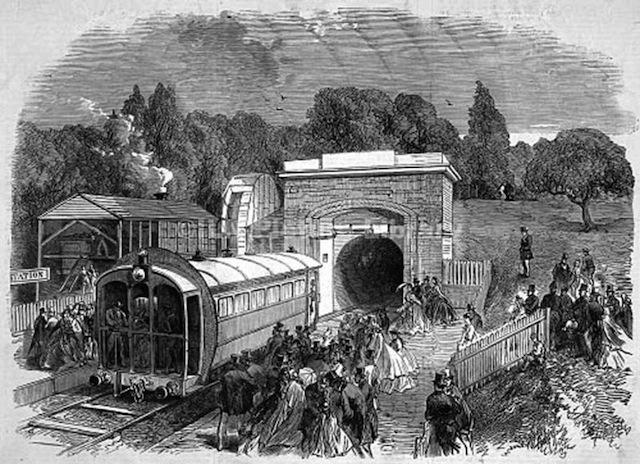 The Secret History Of London S Pneumatic Railways Londonist