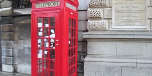 A Phone Box Shrine To Sherlock At St Barts