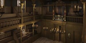 Images Of New Indoor Theatre At Shakespeare's Globe