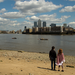 Wapping foreshore at low tide