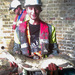 A pike saved from the tunnel -- the workmen saved thousands of individual fish, including bream, perch and bucketsful of crawfish