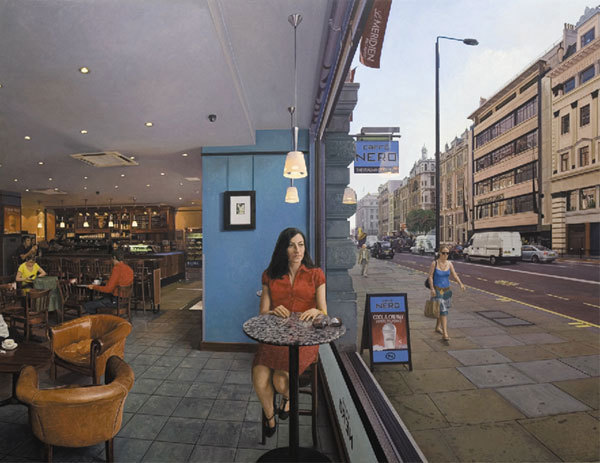 Clive Head, Rebekah, 2008. Image courtesy of Marlborough Fine Art (Previous work, not in current exhibition)