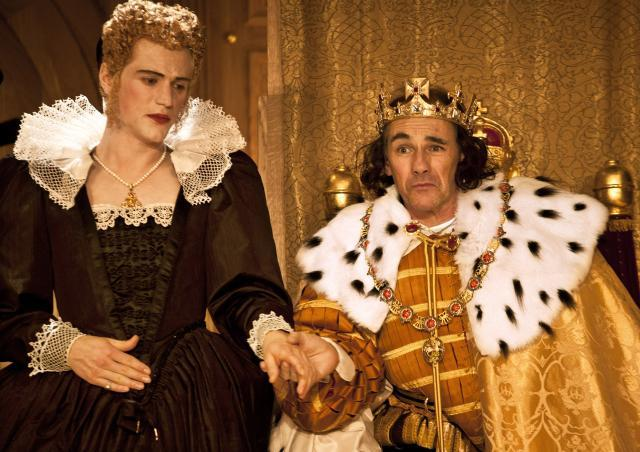 Johnny Flynn and Mark Rylance / photo by Simon Annand