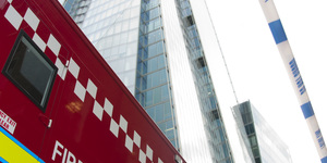 Gallery: Shard Evacuated In Fire Drill