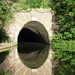 Regent's Canal tunnel reflected, by Lee Jackson