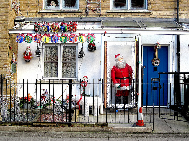 Santa's House in Camberwell by day