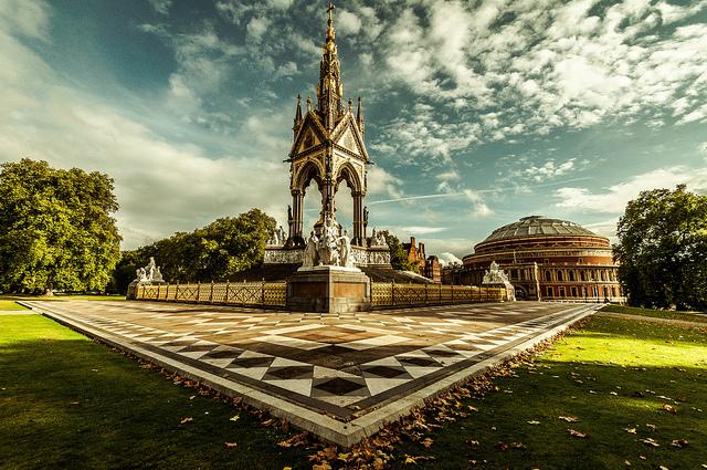 Albert Memorial, by Scott Baldock, from 'All About Albert' on 12 October