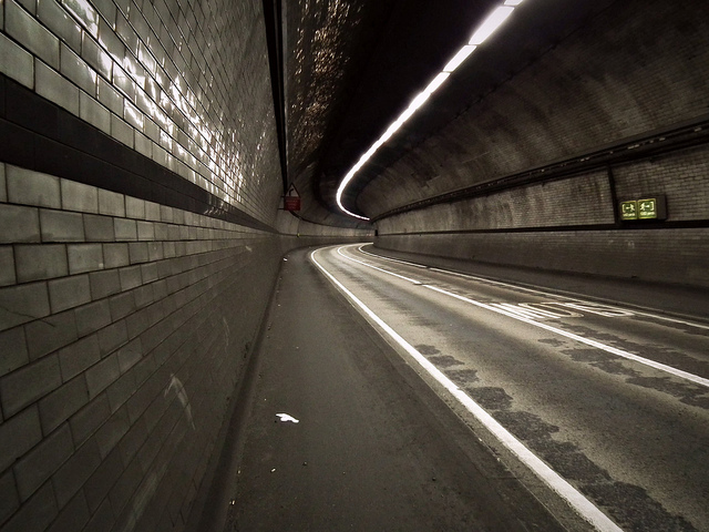 An eerie Rotherhithe Tunnel, by O.F.E.