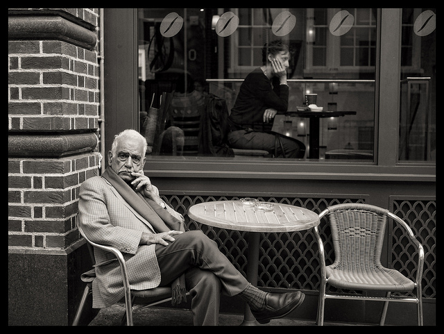 Image by Dave Mason, from 'Elderly London' on 28 September