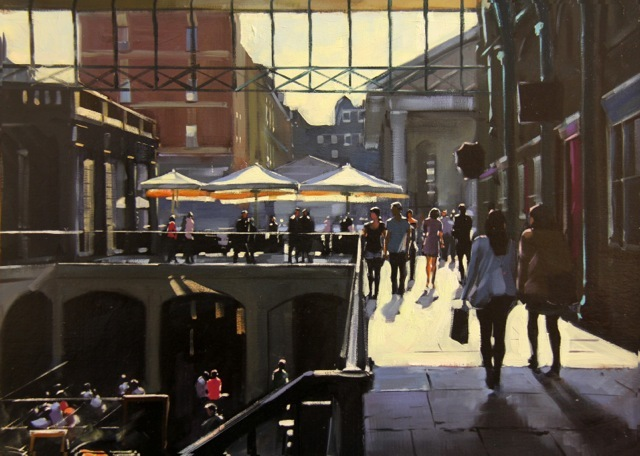 Charles Rowbotham, Covent Garden. Image courtesy of the artist.