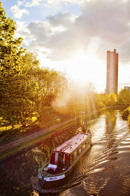 Grand Union Canal, by Prad Patel, from 'Canals' on 22 June