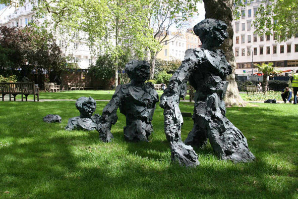 David Breuer-Weil, Emergence in Hanover Square, 2012 (courtesy of the artist).