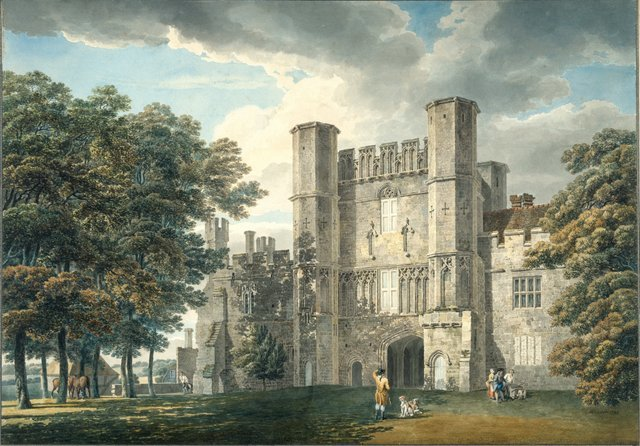 PL000569  Michael Angelo Rooker, A.R.A.  The Gatehouse of Battle Abbey, Sussex  1792  Pencil and watercolour on wove paper  41.80 x 59.70 cm  Photo credit: �© Royal Academy of Arts, London