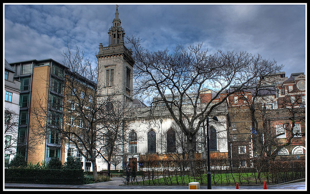 St Michael Paternoster Royal, by Brron, from 'Wren Churches In The City' on 24 February