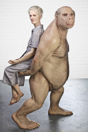 Patricia Piccinini, The Carrier. Image courtesy Haunch of Venison