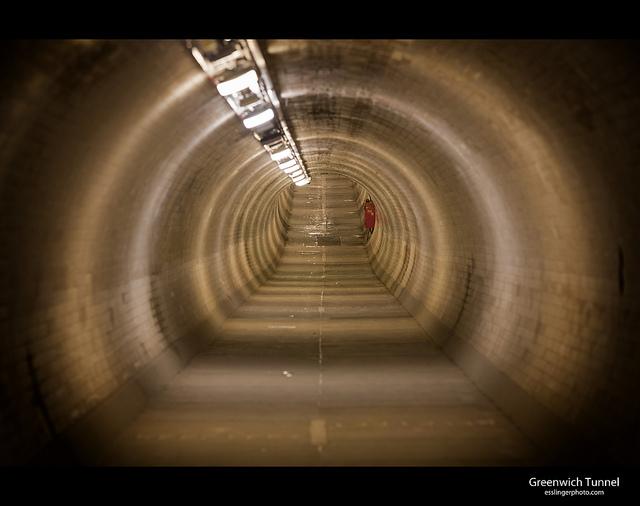 Tunnel vision, by John Esslinger