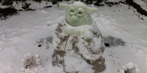 London Snow People & Creatures 2013