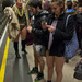 Hundreds of daring individuals took off their trousers and took part in �Global No Pants Subway Ride 2013� in London. The event first took place in New York in 2002 and has since spread globally to countries including Britain, Japan, Argentina and Australia.