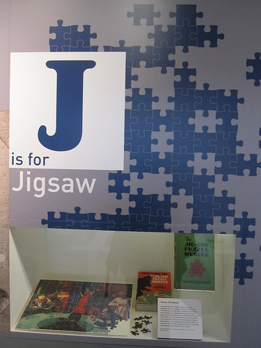 Walter Eberhardt's The Jigsaw Puzzle Murder from 1933 comes under J