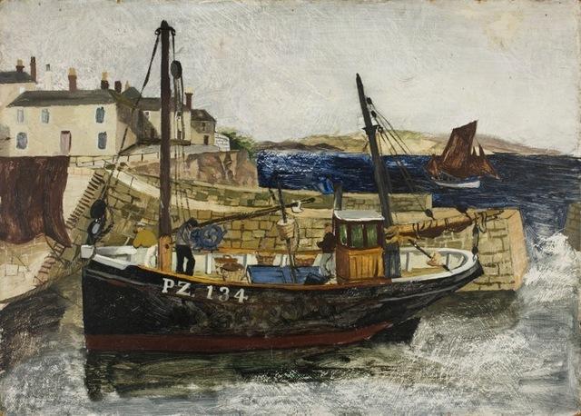 'PZ134' Christopher Wood (1901-1930) Oil on canvas, 1930 © Towner, Eastbourne