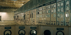 Interactive Photo: Battersea Power Station Control Room A