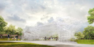 Design For 2013 Serpentine Pavilion Revealed