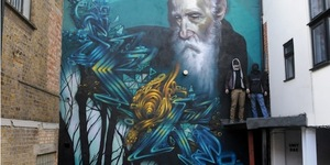 Street Art: Three-Storey Mural Goes Up In Spitalfields