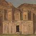 Ed Deir, Petra, Jordan. 1868. Oil, graphite on thick paper. 32.8 x 51.1 cm. Gift of Louis P. Church, 1917-4-485-b. Photo: Matt Flynn © Smithsonian Institution