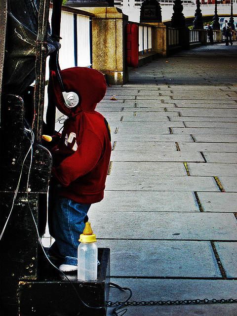 Baby DJ, Southbank, 2009 by akirbs