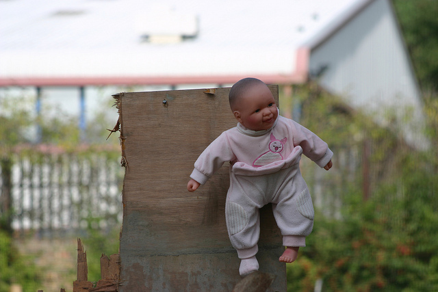 Baby on Board, Holloway Road 2010 by Sarah Heenan