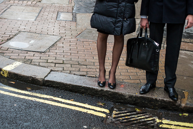 A sensible work manbag by Richard Stern