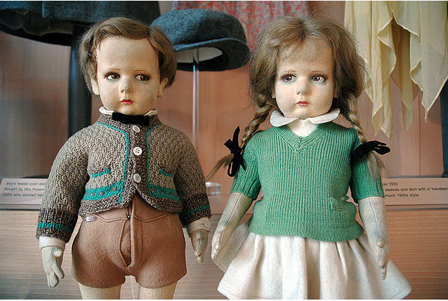 """""""evil toys"""" at Museum of Childhood by cakehole"""