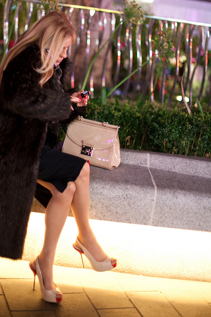 Expensive looking matching bag and shoes by Che-burashka