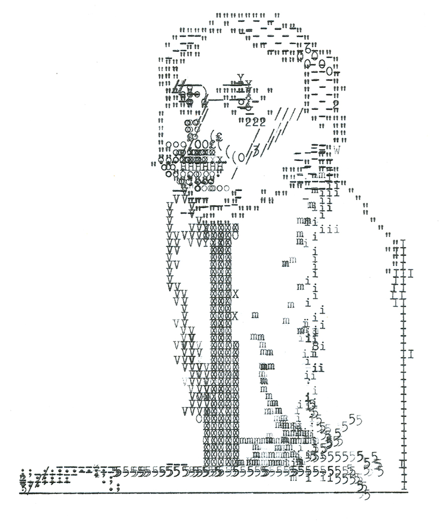 Early Typing, Tim, 2004. Typewriter art by Keira Rathbone 2013 all rights reserved.
