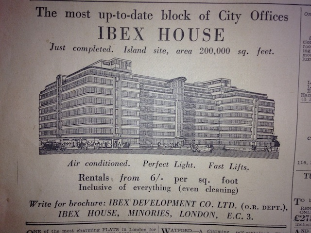 When Art Deco Was New Fangled Ibex House Londonist