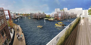 Mayor Calls For Floating Thames Village