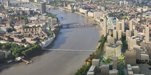 New Bridge Between Nine Elms And Pimlico