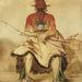 La-dóo-ke-a, Buffalo Bull, a Grand Pawnee Warrior Pawnee, by George Catlin, 1832. Copyright: Smithsonian American Art Museum