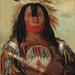 Stu-mick-o-súcks, Buffalo Bulls Back Fat, Head Chief, Blood Tribe Blackfoot/Kainai, by George Catlin, 1832. Copyright: Smithsonian American Art Museum