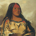 Eeh-nís-kim, Crystal Stone, Wife of the Chief Blackfoot/Kainai, by George Catlin, 1832. Copyright: Smithsonian American Art Museum