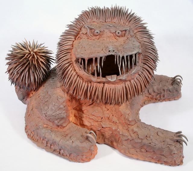 Okinawan lion by Ryosuke Otsuji 2010.  Image courtesy Wellcome Collection.
