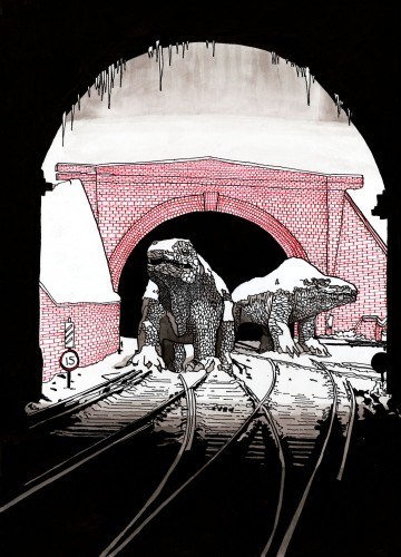 Crystal Palace Monsters by Matt Bannister.
